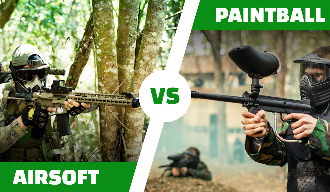 Paintball și Airsoft – Diferențe